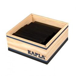 KAPLA color negro - 40 placas de madera