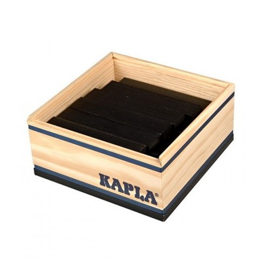 KAPLA color negro - 40 placas de madera
