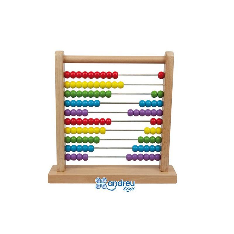 Baco de madera con 100 bolas - Bolas de madera para manualidades ...