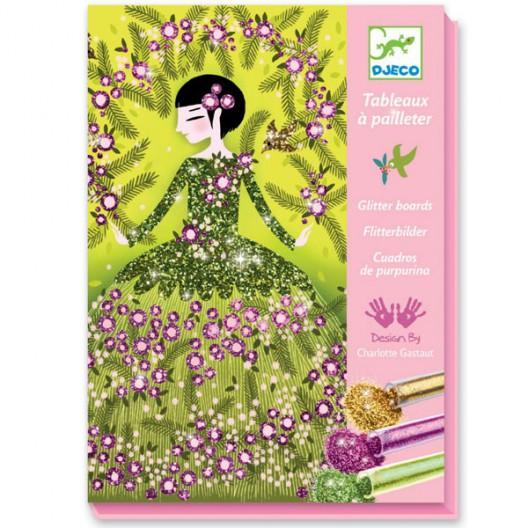 Cuadros de purpurina - Vestidos