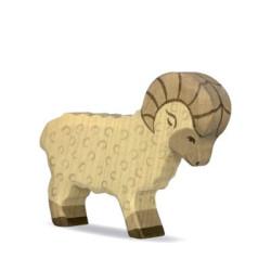 Carnero - Animal de madera