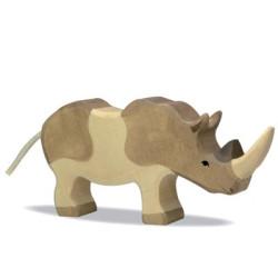 Rinoceronte - animal de madera
