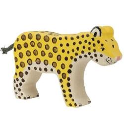 Leopardo - animal de madera