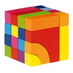 Bloques de construcción y puzzle