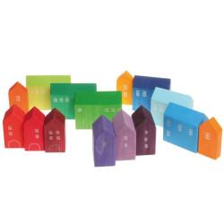 Set de construcción - Pequeñas casas