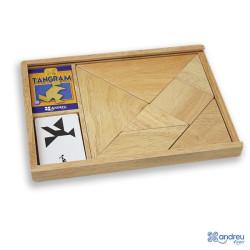 Tangram clásico de madera