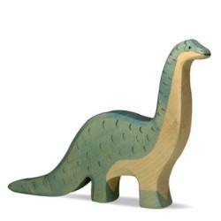 Brontosaurus - dinosaurio de madera