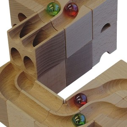 Canicas originales de vidrio para pistas de canicas cuboro
