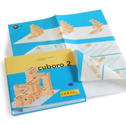 """Cuboro 2 - Libro con instrucciones de 12 """"mastertracks"""""""