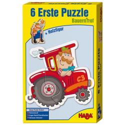 6 Primeros puzzles - La granja