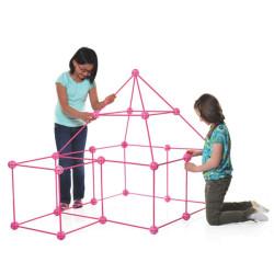 Crazy Forts! - juguete de construcción, el castillo rosa