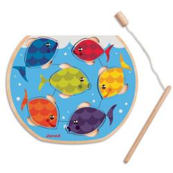 Puzzle de madera Speedy Fish juego de pesca