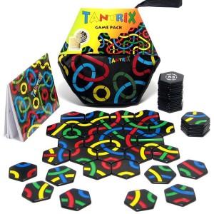 Tantrix Game Pack - set con más de 30 puzzles juegos para 4 jugadores