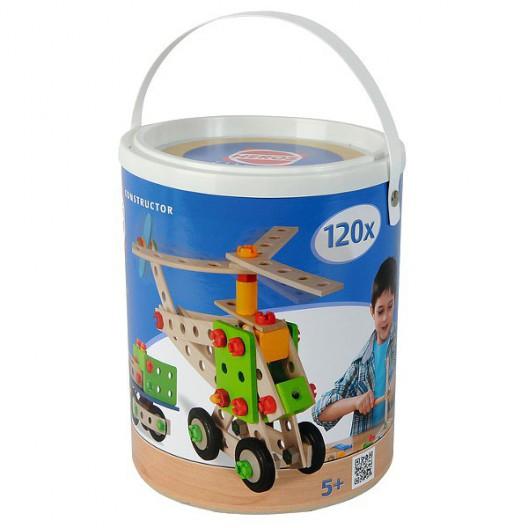 Constructor 120 - juego de construcción de madera