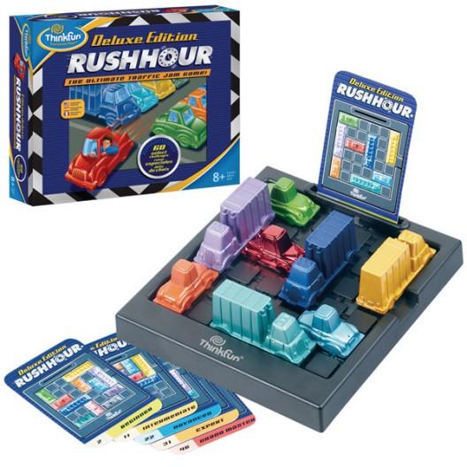 Rushhour, Escapa del atasco versión Deluxe - Juego de lógica