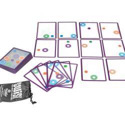 Swish - juego de cartas transparentes de atención