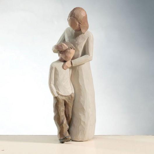 Figuras decorativas - Madre e hijo