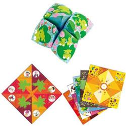 Papiroflexia Origami - Salero Comecocos