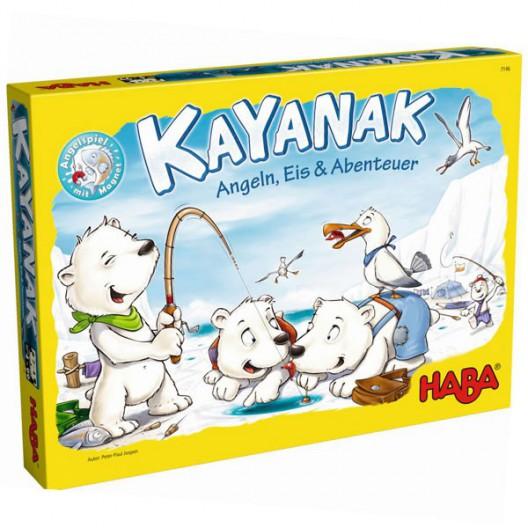 Kayanak, Pesca, hielo y aventura - Juego de habilidad para toda la familia