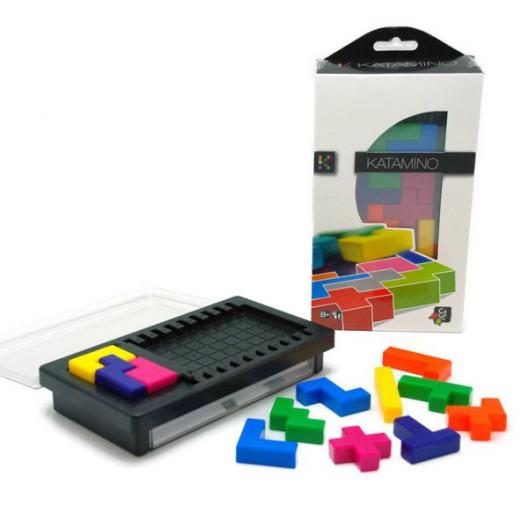 Katamino pocket de plástico - Juego puzzle de estrategia