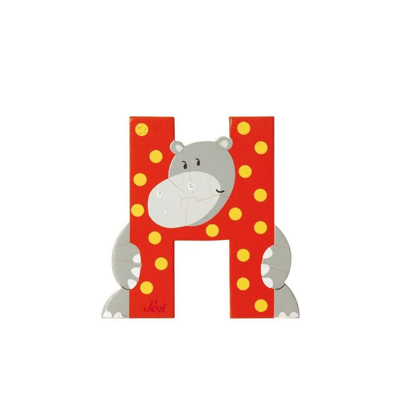letra h de animal