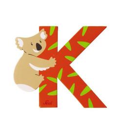 Letra K de animal