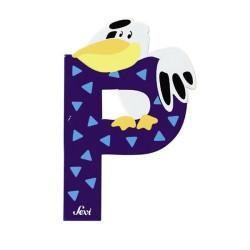 Letra P de animal