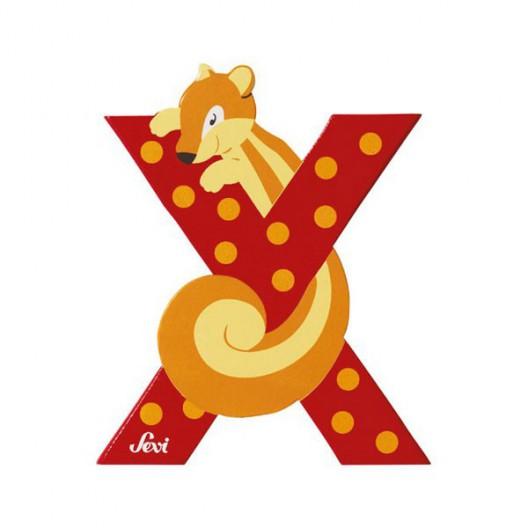 Letra X de animal