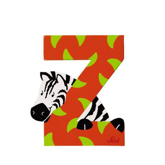 Letra Z de animal - últimas unidades