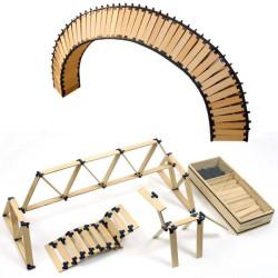 TomTecT 420 piezas - Cofre grande con plaquitas de construcción