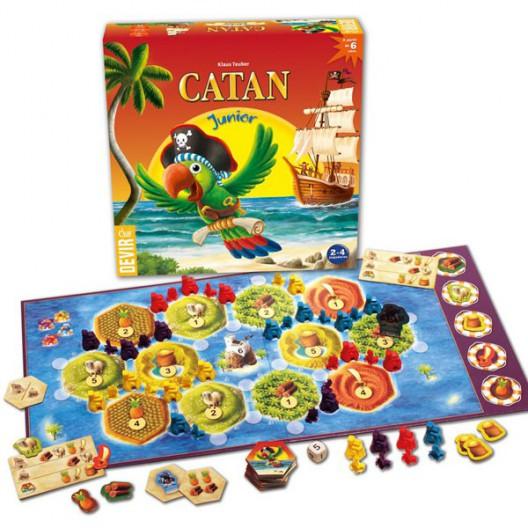 Los Colones De Catan Junior Juego De Mesa Desde Los 6 Anos