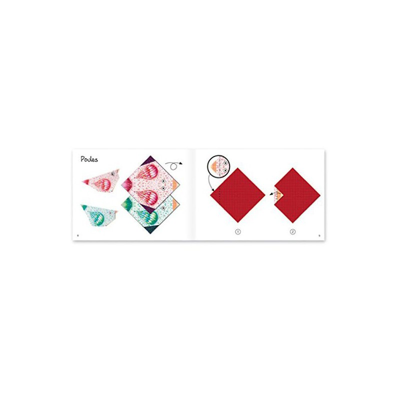 origami polar animals djeco djc 38777. Black Bedroom Furniture Sets. Home Design Ideas
