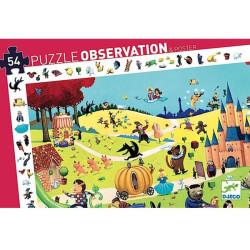 Puzzle observación Cuentos - 54 pzas.