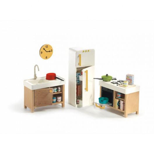La cocina - Casita de muñecas