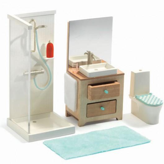 El cuarto de baño - Casita de muñecas