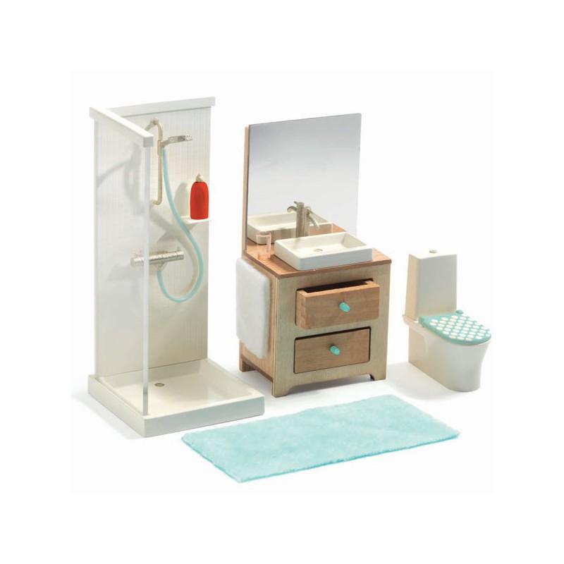 Juego De Escape The Bathroom bathroom- doll house djeco djc-37824 kinuma