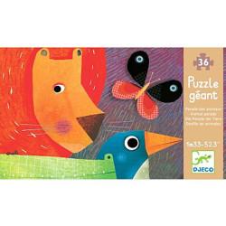 Puzzle gigante El desfile de los animales - 36 pzas.