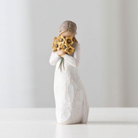 Figuras decorativas - Cálido abrazo
