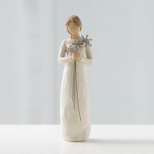 Figuras decorativas - Agradecida