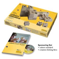cuboro standard sponsoring set con libro creative thinking