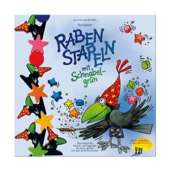 Raben stapeln - mágico juego de apilar figuras y equilibrios
