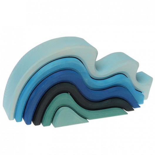 Apilable en forma d'Aigua gran