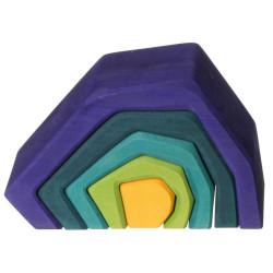 Apilable de madera en forma de Cueva grande