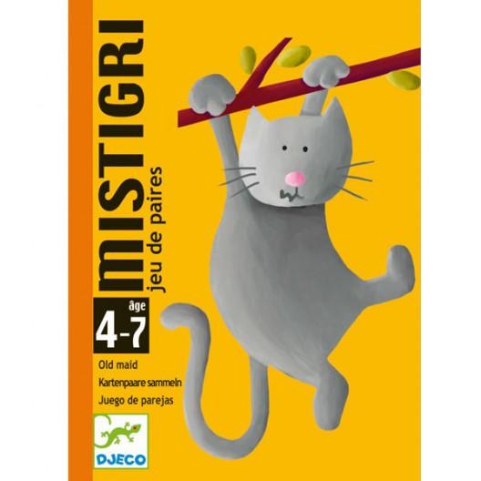 Mistigri juego de asociación con cartas