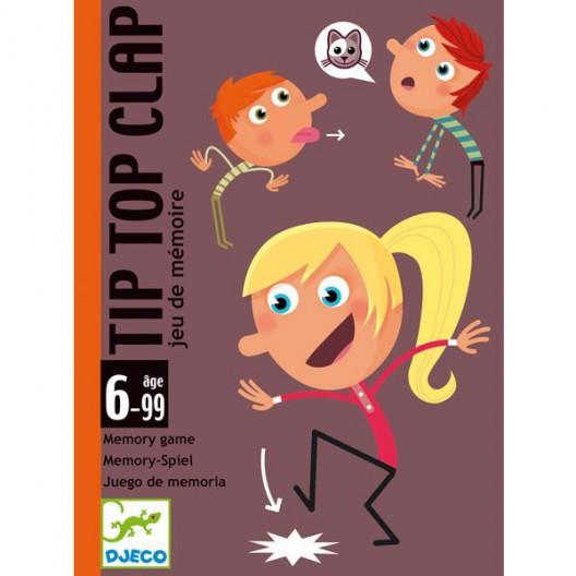 Tip Top Clap - Juego de cartas de memoria
