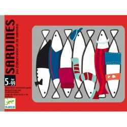 Sardines - Juego de cartas de memoria