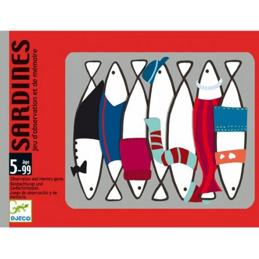 Sardines - Joc de cartes de memòria