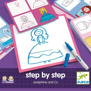 Aprende a dibujar con Step by Step Josephine and Co