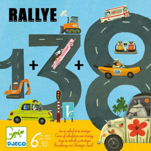 Rallye - Juego de cálculo y estrategia