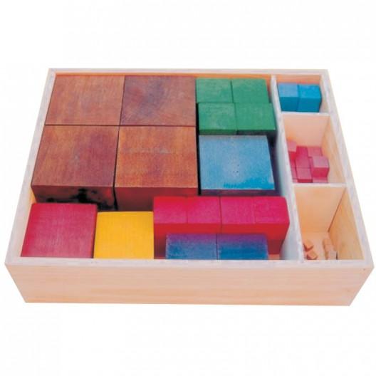 Cubos numéricos según Maria Antonia Canals para el aprendizaje de las matemáticas